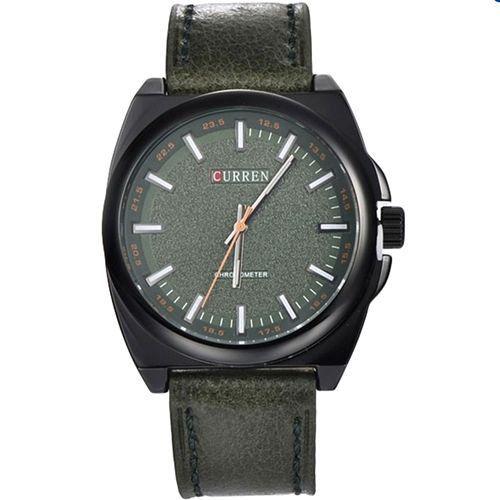 Relógio Curren Analógico 8168 Verde e Preto-