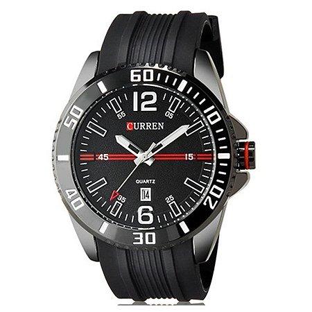 Relógio Curren Analógico 8178 Preto-