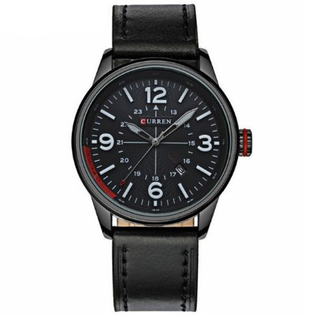 Relógio Curren Analógico 8215 Preto-