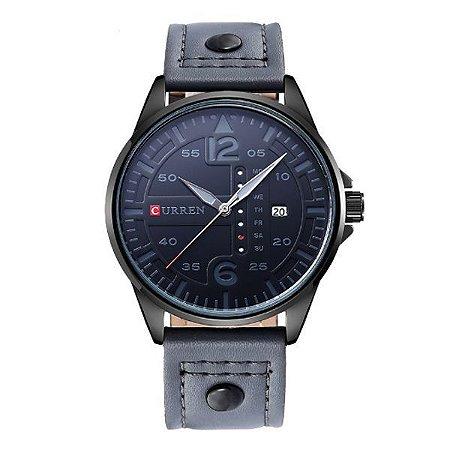 Relógio Curren Analógico 8224 Cinza-