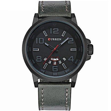 Relógio Curren Analógico 8240 Cinza-