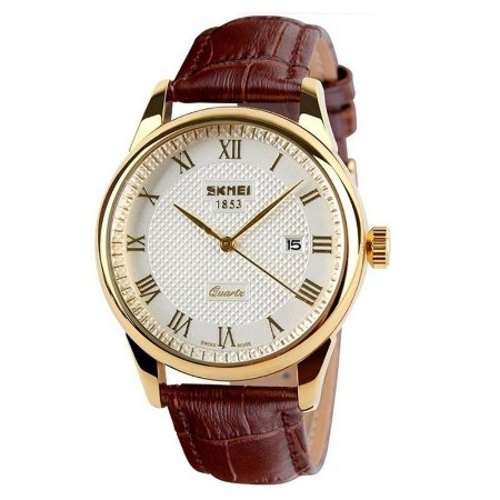 Relógio Skmei Analógico 9058 Dourado-