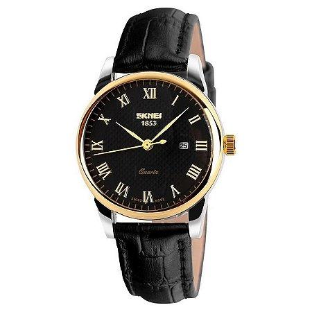 Relógio Skmei Analógico 9058 Preto-