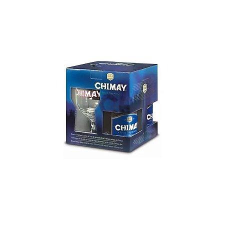 Kit Chimay Blue (3 garrafas + taça)