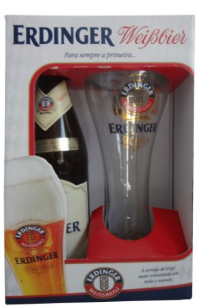 Kit Erdinger (1 garrafa + 1 copo)