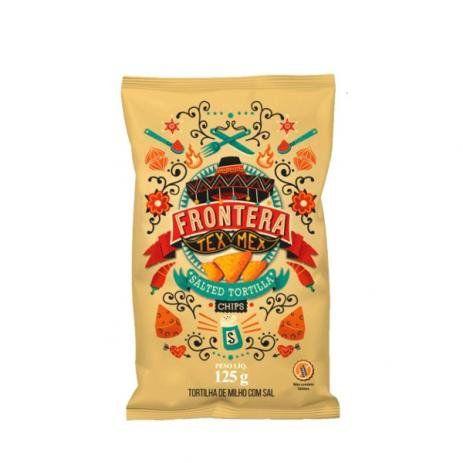 Tortilla Chips Sal 125g Frontera