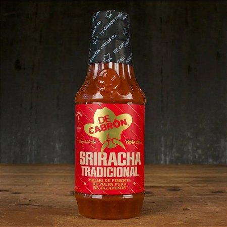 Molho de Pimenta SRIRACHA TRADICIONAL De Cabron 266ml