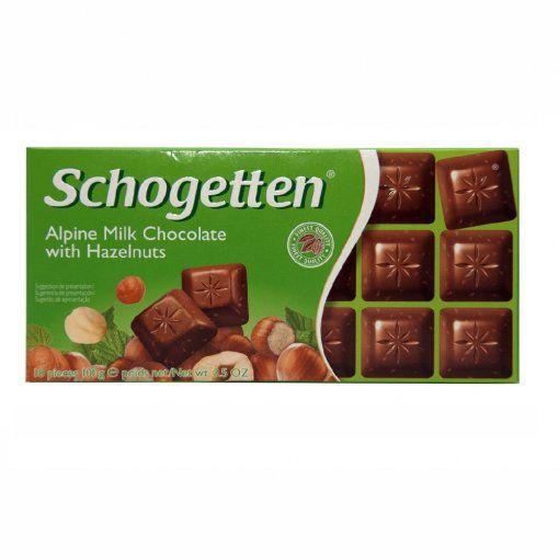 Schogetten Chocolate com Avelãs 100g