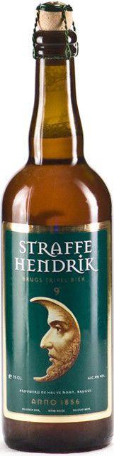 Straffe Hendrik Brugs Tripel Bier 9° 750ml