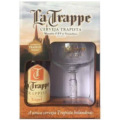 Kit La Trappe Tripel 330ml (1 garrafa + 1 taça)
