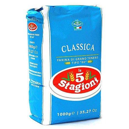 Farinha de Trigo Italiana 00 Classica Le 5 Stagioni 1Kg