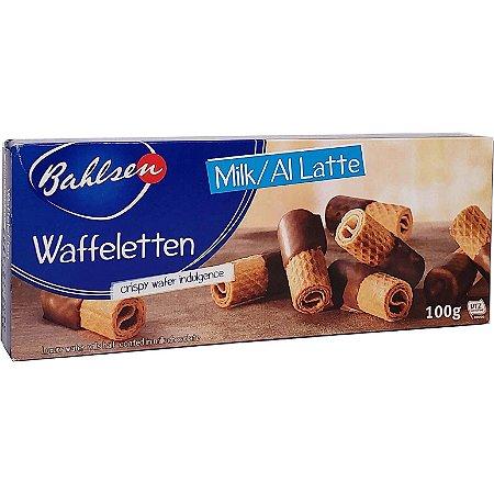 Biscoito Bahlsen Waffeletten Milk 100g
