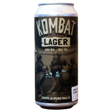 Salvador Kombat Lager 473ml
