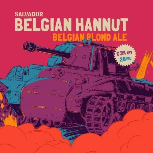 Salvador Belgian Hannut 473ml