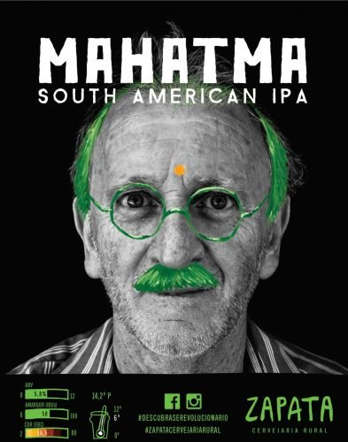 Zapata Mahatma South American IPA 500ml