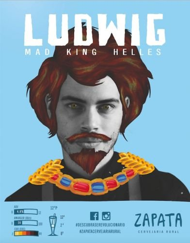 Zapata Ludwig Mad King Helles 500ml