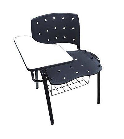 Cadeira Universitária Ergoplax - Com Prancheta e Gradil