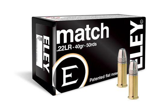 Munição Cal 22 Eley Match