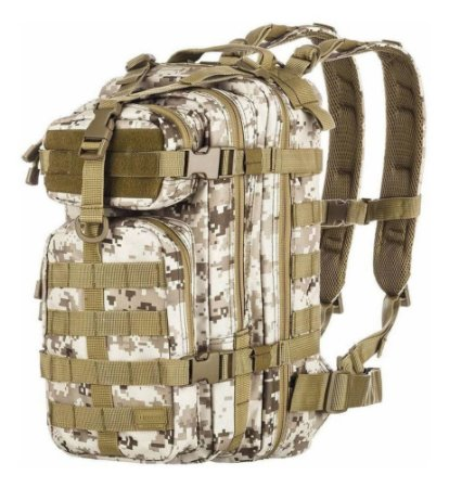 Mochila Invictus Assault Camuflado Digital Deserto