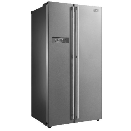 Geladeira/Refrigerador Side by Side Midea 528 Litros Frost Free Inox MD-RS587FGA041