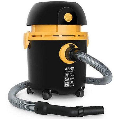 Aspirador de Pó e Água Arno 1400W Preto e Amarelo H3PO 110V