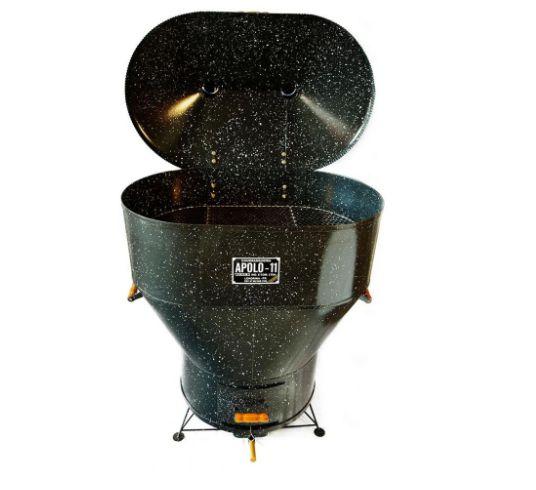 Churrasqueira Apolo 11 Esmaltada Gás ou Carvão