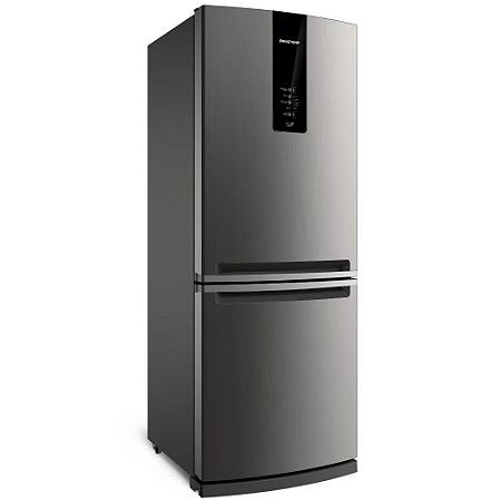 Frost Free Inverse 460 litros cor Inox com Freeze Control Advanced  BRE59AK