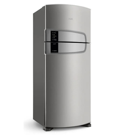 Geladeira Consul Frost Free Duplex 405 litros cor Inox com Filtro Bem Estar - 110V