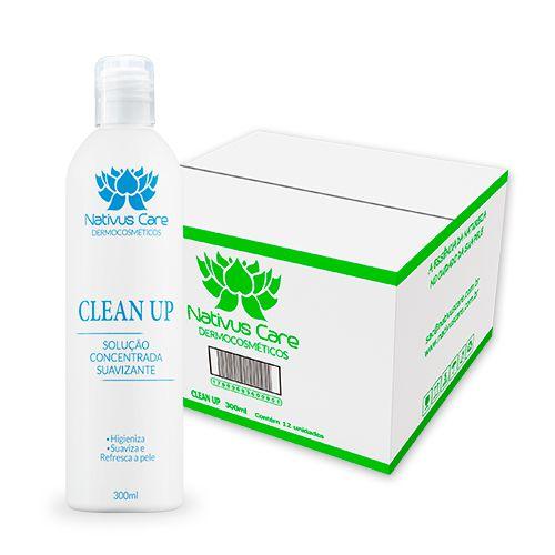 Clean Up Solução Higienizante cx 12 un