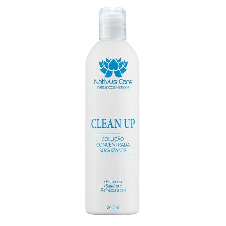 Clean Up Solução Higienizante 1 unidade 300ml