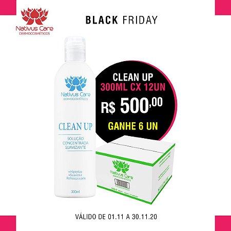 black friday  Clean Up Solução Higienizante cx 12 un Ganhe 6 un