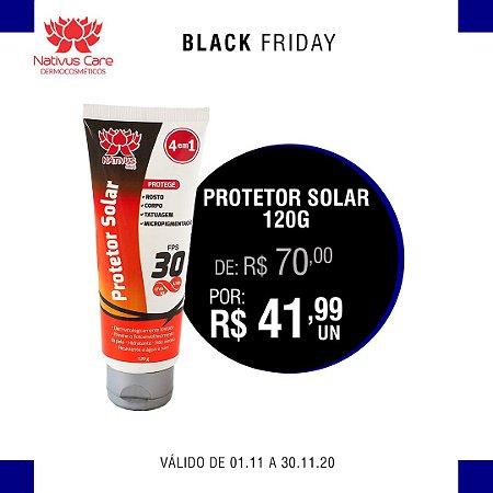 black friday  Protetor Solar toque seco 120g 1 unidade