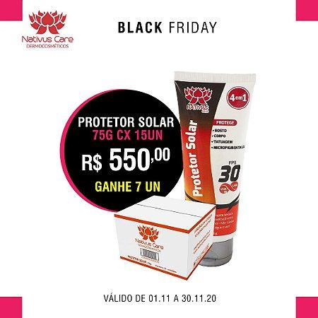 black friday Protetor Solar toque seco 75g cx 15un ganhe 7