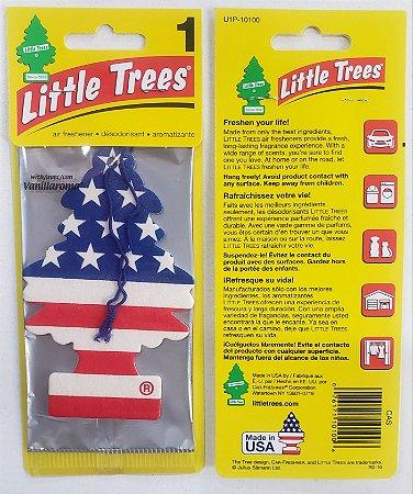 Cheirinho para Carros Little Trees - Vanilla Pride - Bandeira EUA
