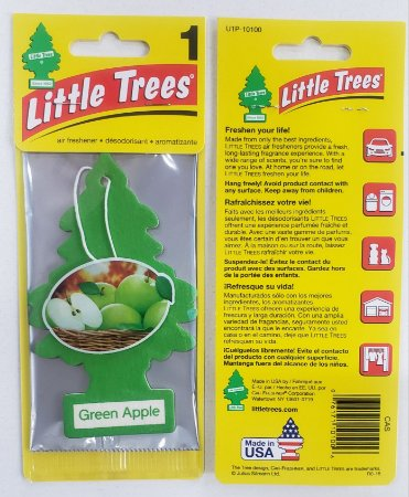 Cheirinho para Carros Little Trees - Maçã Verde