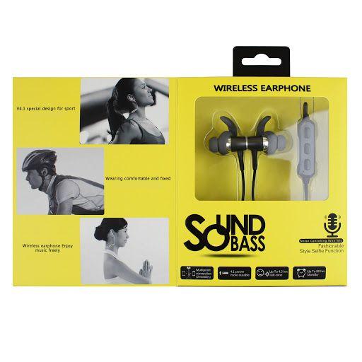 Fone de Ouvido Sound Bass BT01 - Rosa