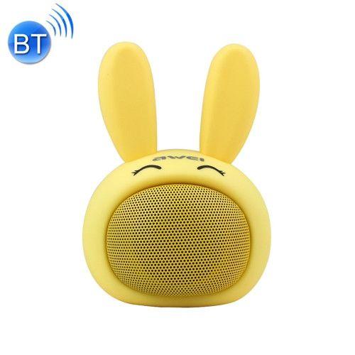 Caixa de som Awei Coelho Y700 - Amarela