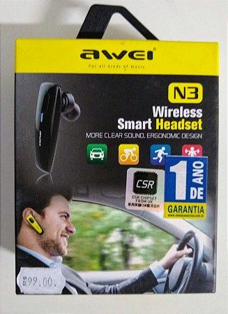 fone de ouvido smart headset N3