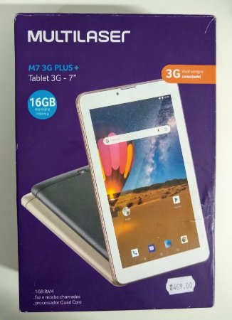 TABLET MULTILASER 3G PRETO