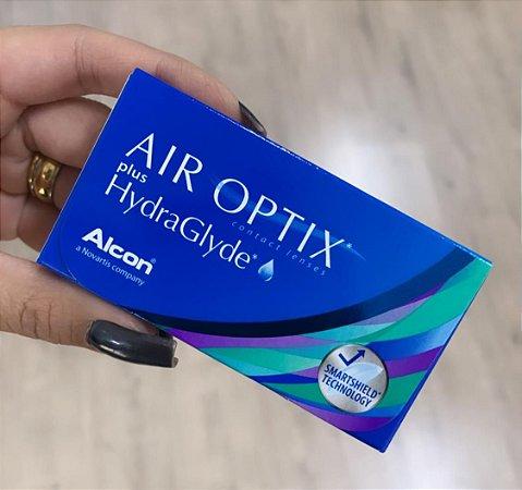 Lente de contato Air Optix Hydra (-0,5 até -12,0)