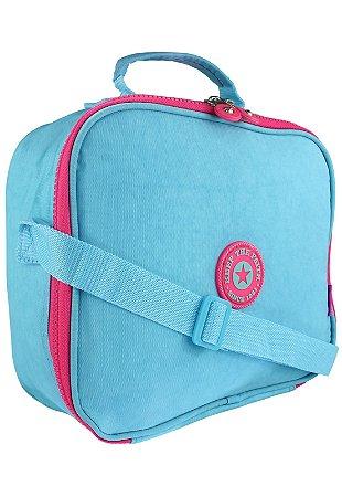 Bolsa Marmiteira Térmica Feminina Azul B025
