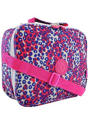 Bolsa Marmiteira Térmica Feminina Estampada Pink B025