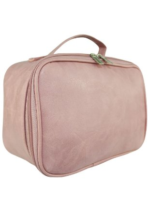 Nécessaire Bolsa Pequena Material Sintético Rosa NE02
