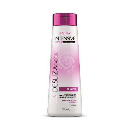 Shampoo Triskle Intensive Repair Desliza Cabelo 350ml