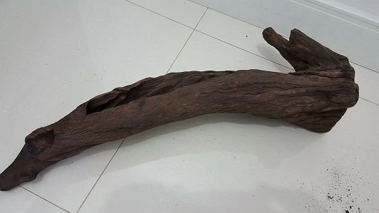 Tronco de Aroeira Jumbo (G) - TAMANHO: 80/25/30 (C/L/A) cm