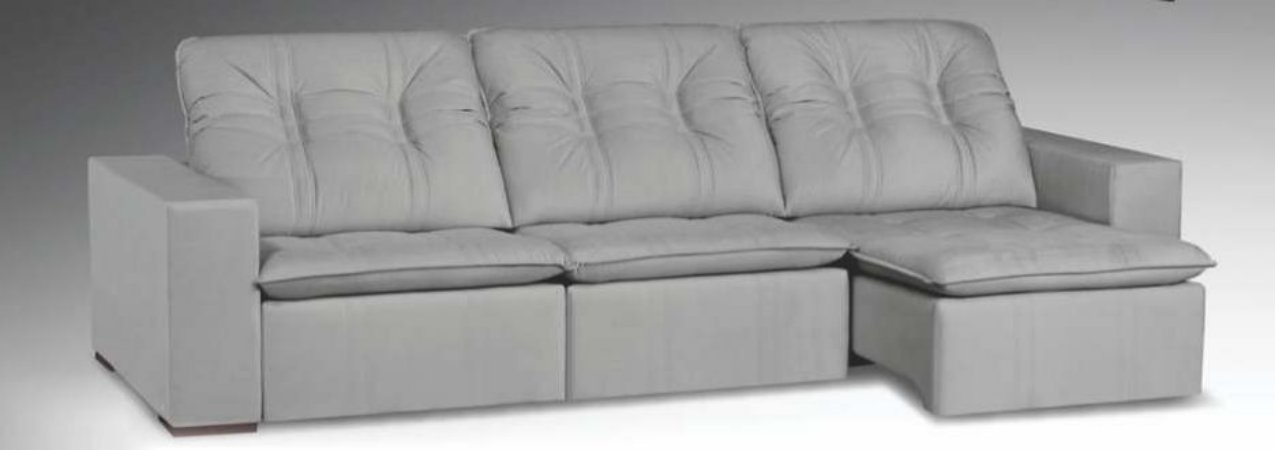 Sofá  retrátil e reclinável 2,90m