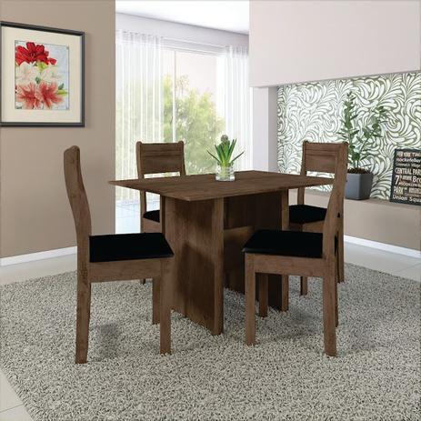 Mesa de jantar com 4 lugares