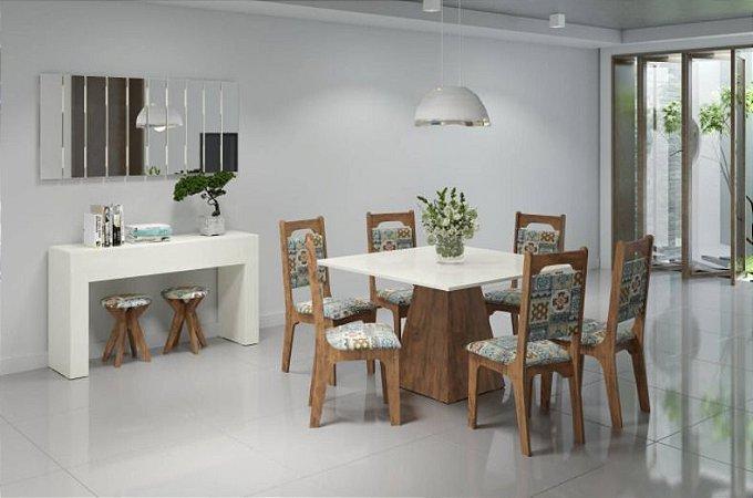 Conjunto Sala de Jantar 100% MDF