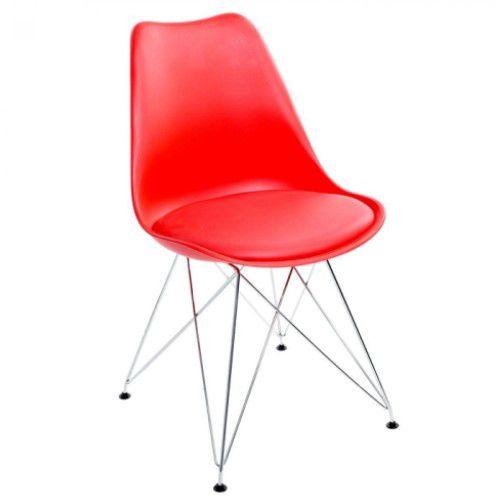 Cadeira Potenza Com Base em Aço