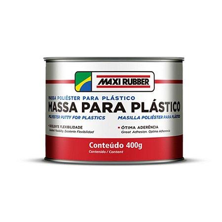 MASSA PARA PLÁSTICO  BRANCO – MAXI RUBBER